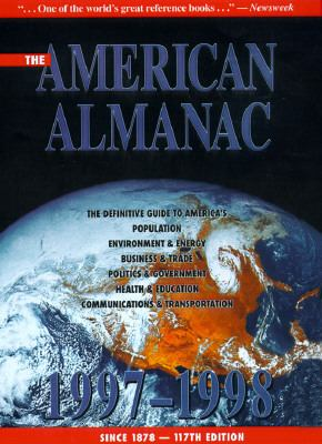 American Almanac 1997-1998 Statistical Abstract of the United States 117th edition cover