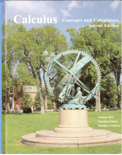 Calculus: Concepts and Calculators 1st 2006 edition cover