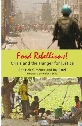 Food Rebellions! Crisis and the Hunger for Justice  2009 edition cover