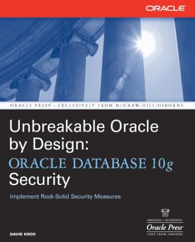 Effective Oracle Database 10g Security by Design   2004 edition cover