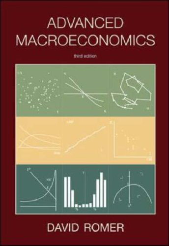Advanced Macroeconomics  3rd 2006 (Revised) 9780072877304 Front Cover