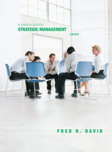 Strategic Management Cases 11th 2007 (Revised) 9780131871304 Front Cover