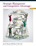 Strategic Management and Competitive Advantage Concepts 5th 2015 edition cover
