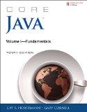 Core Java Volume I--Fundamentals  10th 2016 9780134177304 Front Cover
