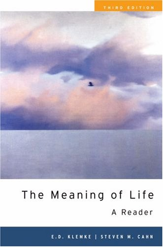 Meaning of Life A Reader 3rd 2008 edition cover