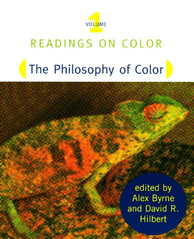 Philosophy of Color   1997 9780262522304 Front Cover