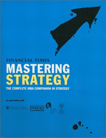 Mastering Strategy   2000 9780273649304 Front Cover