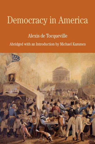 Democracy in America   2009 (Abridged) edition cover