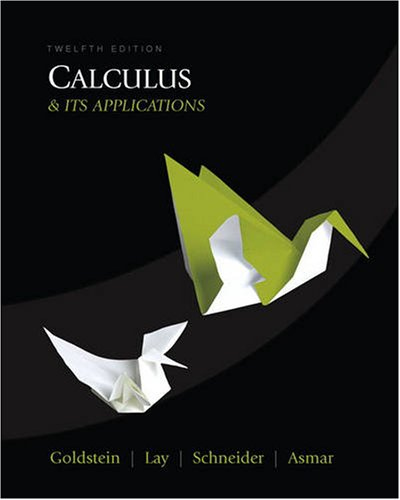 Calculus and Its Applications  12th 2010 edition cover