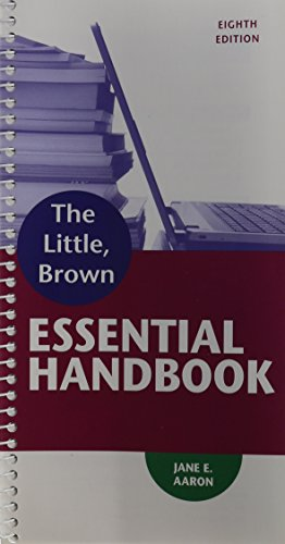Little, Brown Essential Handbook  8th 2015 edition cover