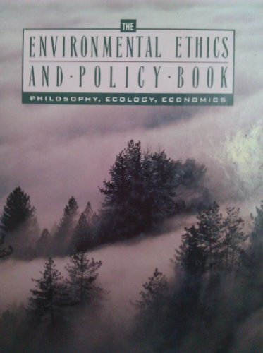 Environmental Ethics and Policy Book Philosophy, Ecology and Economics  1994 edition cover