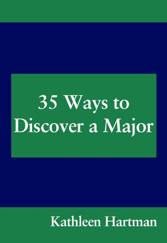 35 Ways to Discover a Major  6th 2008 9780547052304 Front Cover