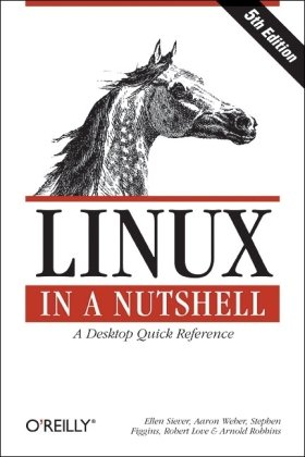 Linux in a Nutshell  5th 2005 edition cover