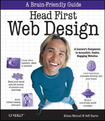 Head First Web Design   2009 edition cover
