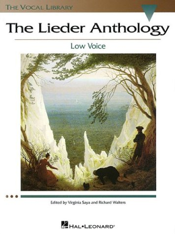 Lieder Anthology Low Voice N/A 9780634060304 Front Cover