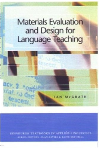 Materials Evaluation and Design for Language Teaching   2002 edition cover