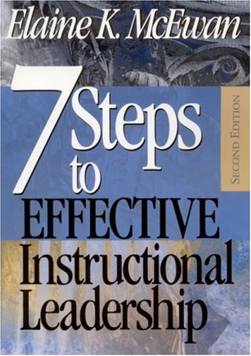 Seven Steps to Effective Instructional Leadership  2nd 2002 (Revised) edition cover