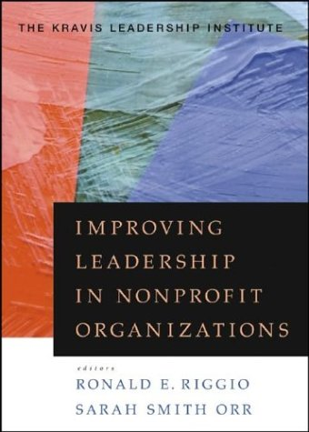 Improving Leadership in Nonprofit Organizations   2003 edition cover