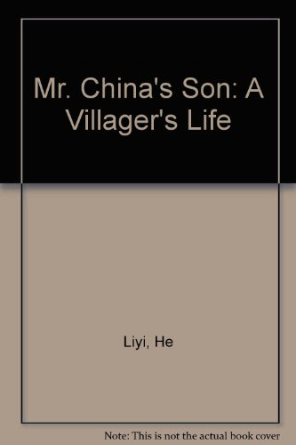 Mr. China's Son A Villager's Life  1993 edition cover