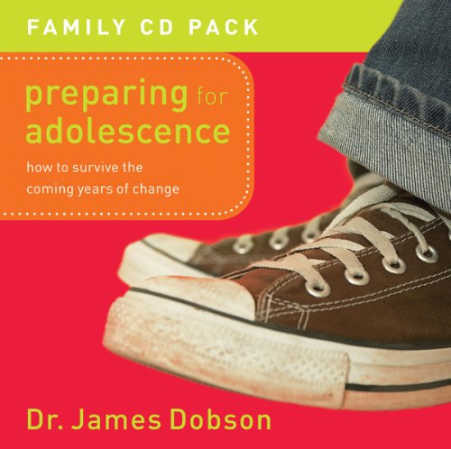 Preparing For Adolescence: How to Survive The Coming Years of Change  2000 edition cover