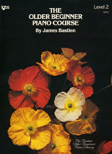 Older Beginner Piano Course: Level 2 1st 1994 edition cover