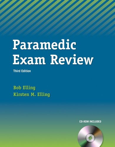 Paramedic Exam Review (Book Only)  3rd 2013 edition cover