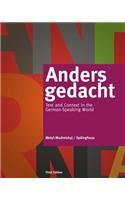 Anders Gedacht Text and Context in the German-Speaking World 3rd 2014 edition cover