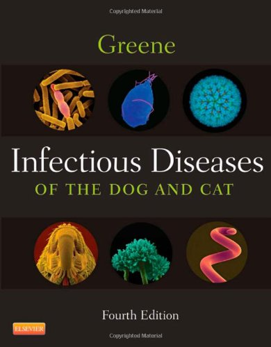 Infectious Diseases of the Dog and Cat  4th 2012 edition cover