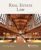 Real Estate Law:   2013 edition cover