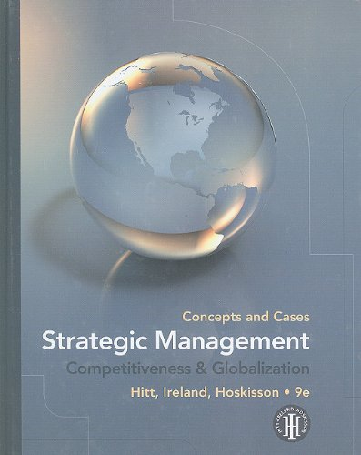 Strategic Management Concepts and Cases - Competitiveness and Globalization 9th 2011 9781439042304 Front Cover