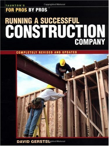 Running a Successful Construction Company   2002 (Revised) edition cover