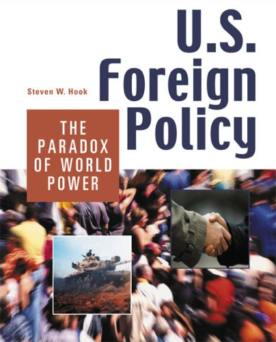 U.S. Foreign Policy The Paradox of World Power  2005 edition cover