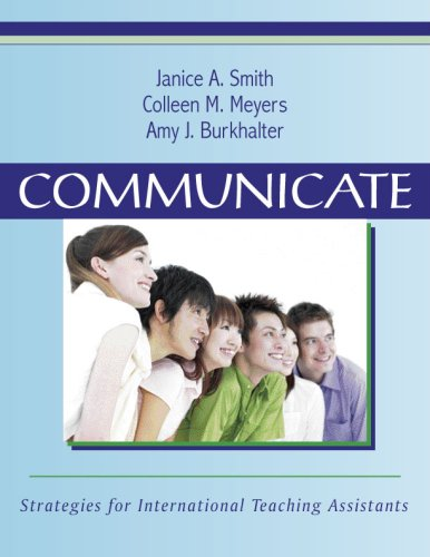 Communicate Strategies for International Teaching Assistants  2007 edition cover