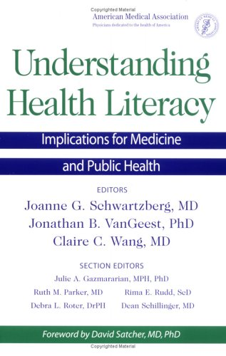 Understanding Health Literacy Implications for Medicine and Public Health  2004 edition cover