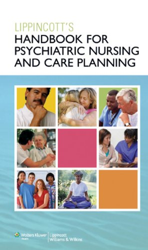 Handbook for Psychiatric Nursing and Care Planning   2010 (Handbook (Instructor's)) edition cover