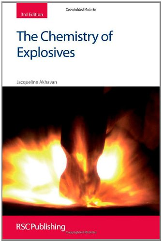 Chemistry of Explosives  3rd 2011 (Revised) edition cover