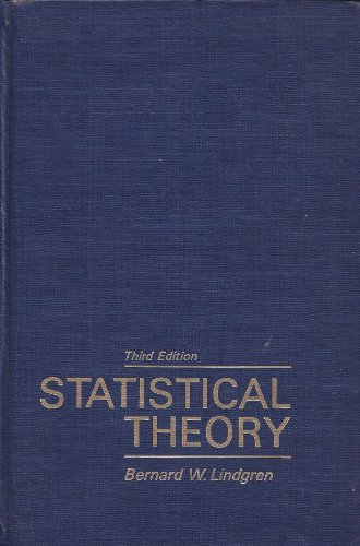 Statistical Theory 3rd 1976 edition cover