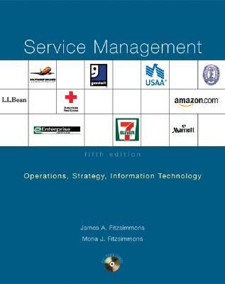 Service Management Operations : Operations, Strategy, and Information Technology 5th 2006 9780072982305 Front Cover