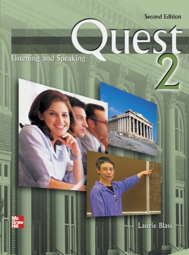 Quest Listening and Speaking 2nd 2007 9780073253305 Front Cover