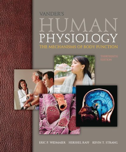 Vander's Human Physiology The Mechanisms of Body Function 13th 2014 9780073378305 Front Cover