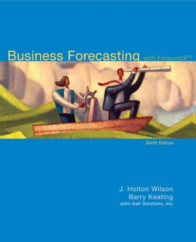Business Forecasting with Student CD  6th 2009 edition cover