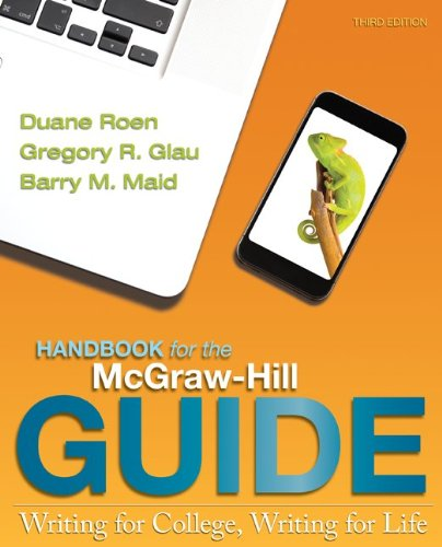 Handbook for the Mcgraw Hill Guide  3rd 2013 edition cover