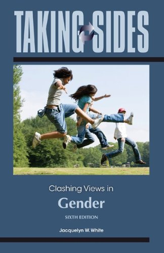 Clashing Views in Gender  6th 2013 edition cover