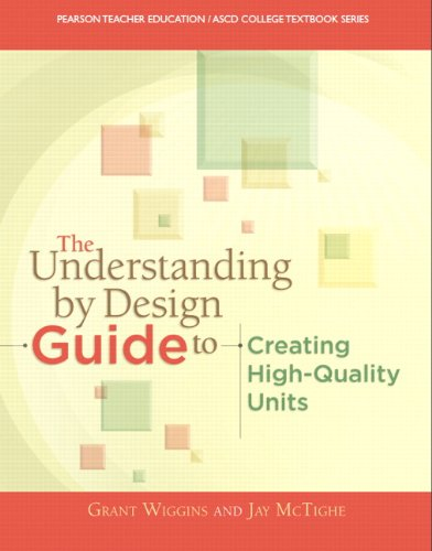 Understanding by Design Guide to Creating High-Quality Units   2014 edition cover