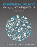 Information Systems Today: Managing in a Digital World  2015 edition cover