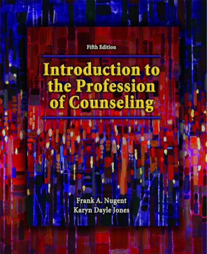 Introduction to the Profession of Counseling  5th 2009 edition cover