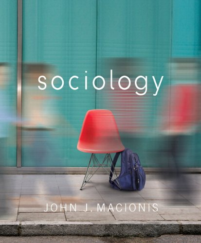 Sociology  14th 2012 9780205252305 Front Cover