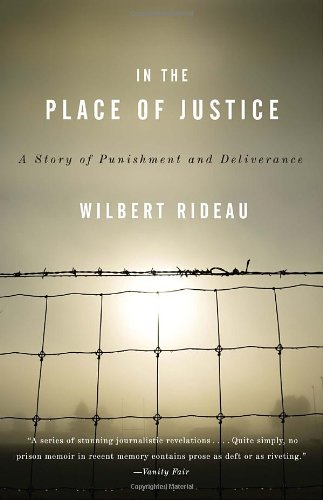 In the Place of Justice A Story of Punishment and Redemption N/A edition cover