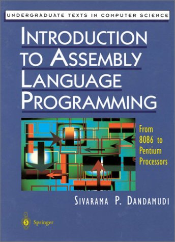 Introduction to Assembly Language Programming From 8086 to Pentium Processors  2000 edition cover