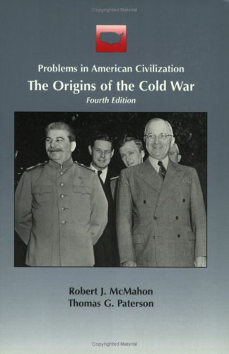 Origins of the Cold War  4th 1999 edition cover